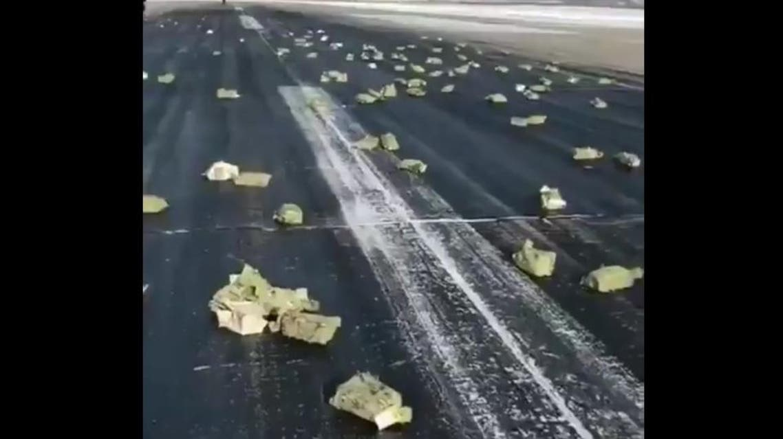 Raining gold in Russia (Twitter)