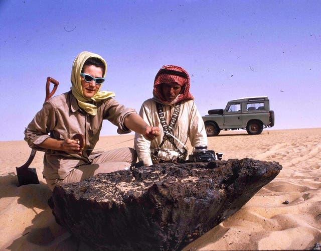 نيزك ضرب السعودية قبل 4 قرون وآثاره شاهدة