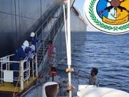 """حرس الحدود بجدة ينقذ بحاراً هندياً من على سفينة """"بنمية"""""""
