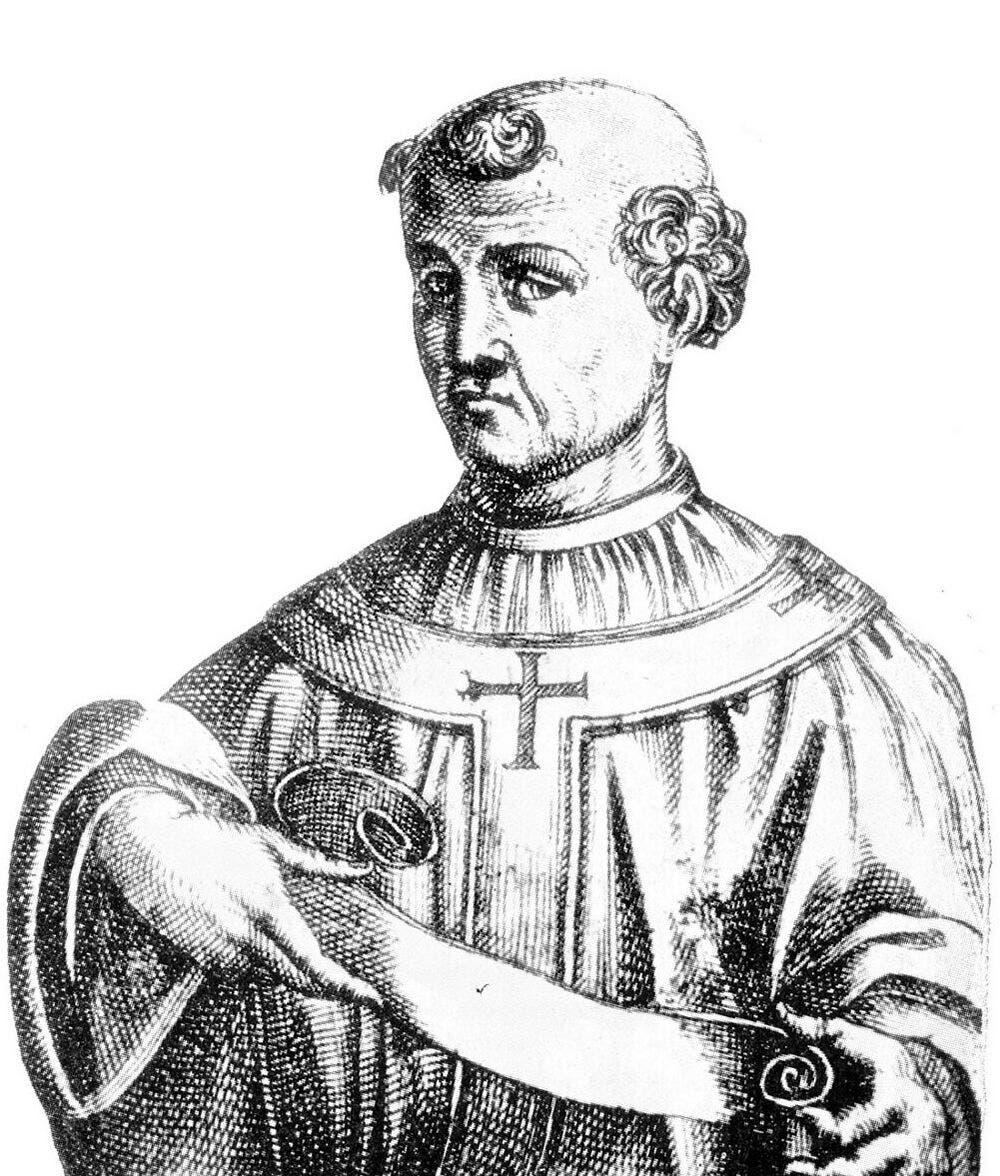رسم تخيلي للبابا فورموسوس