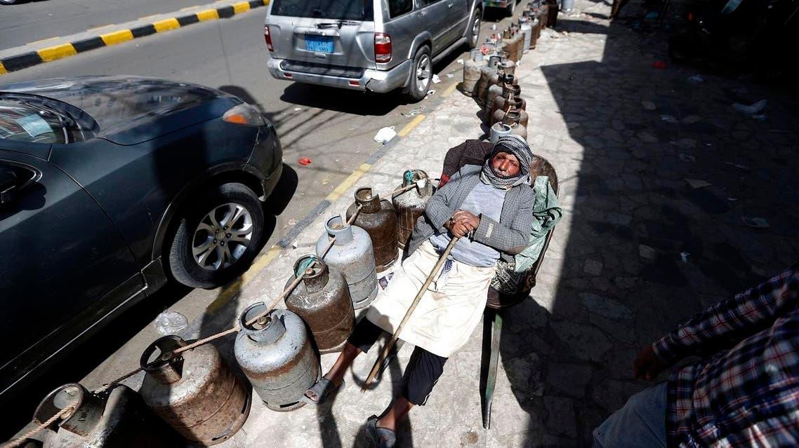 Sanaa gas crises