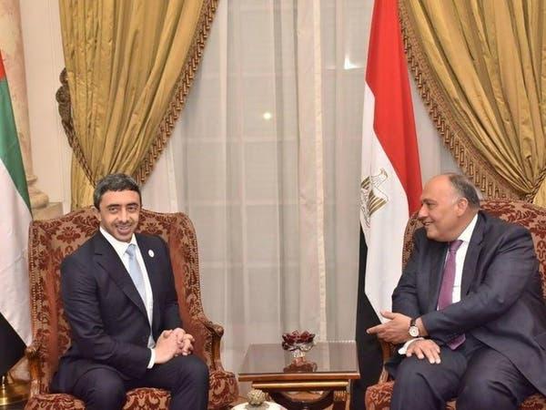 ترحيب مصري إماراتي باستئناف مفاوضات وقف النار في ليبيا