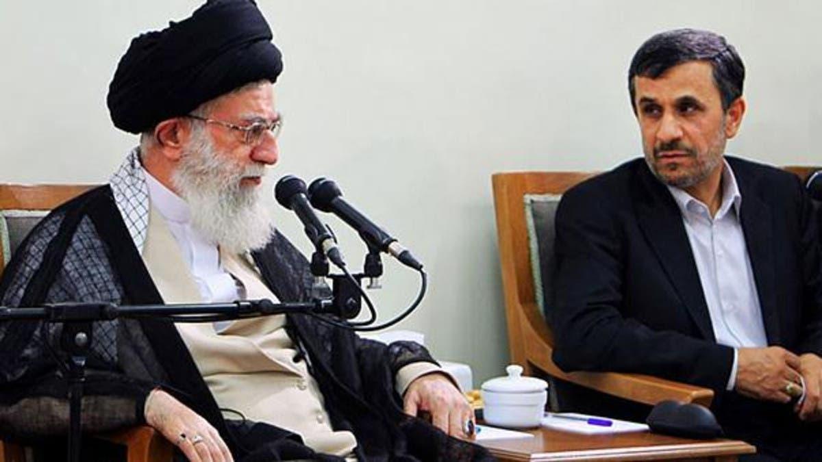 محمود أحمدي نجاد يهاجم بقاء خامنئي الطويل بالسلطة