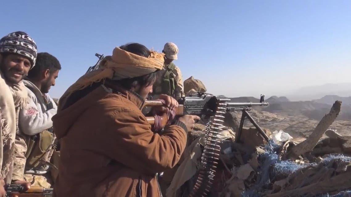 THUMBNAIL_ الجيش اليمن يسيطر على مواقع ميليشيات الحوثي في برط العنان بالجوف
