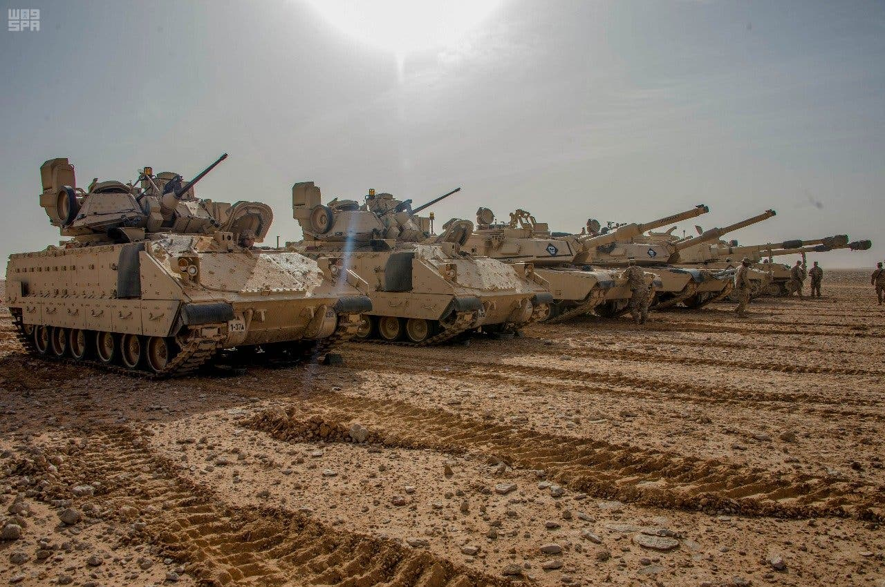 Saudi, US forces continue military training exercises. (supplied)