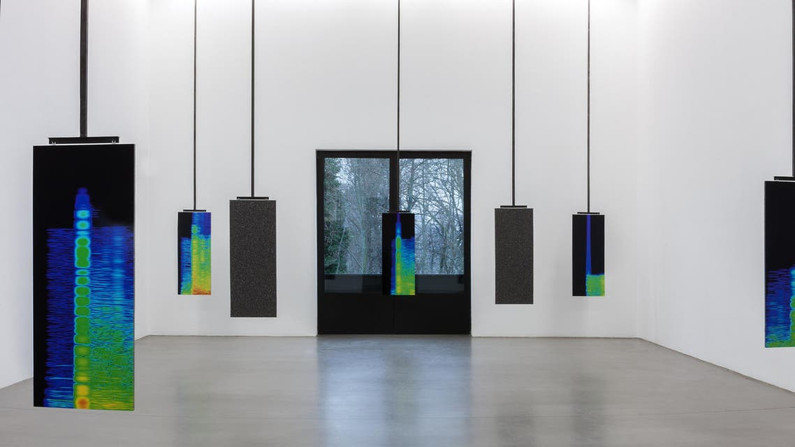 An installation by Lawrence Abu Hamdan. (Courtesy: Art Dubai)