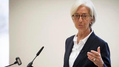 """لاجارد: سألتزم بسياسة """"دراغي"""" النقدية في منطقة اليورو"""
