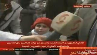 طفلة تفضح تلفزيون الأسد: لا ما بدي بشار