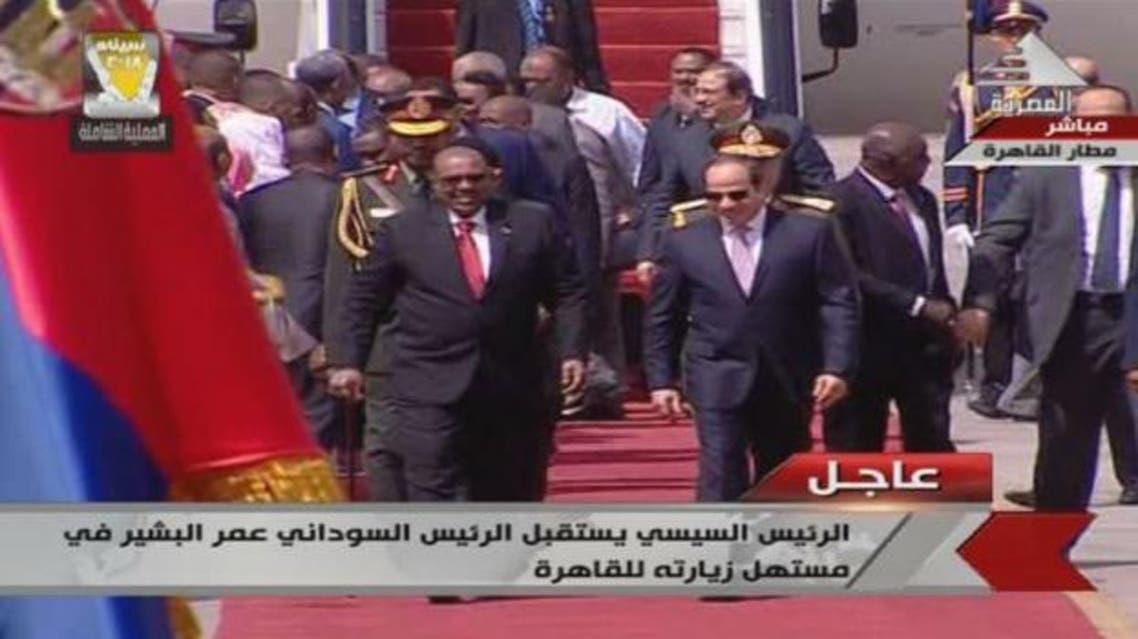 عمر البشير في مصر