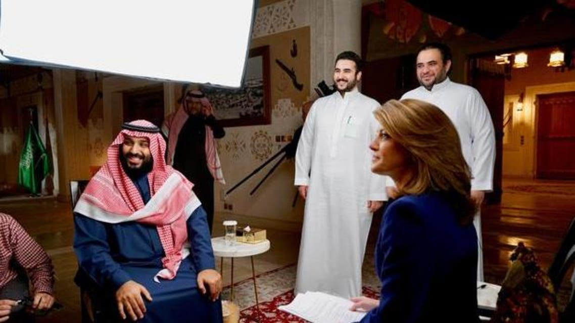 Prince Mohammed was asked by CBS This Morning's Norah O'Donnell whether it was a power grab. (CBS)