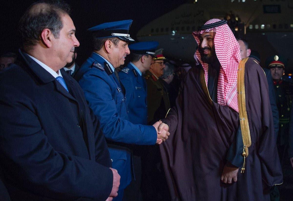 محمد بن سلمان يصل واشنطن