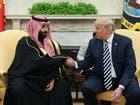 ولي العهد السعودي وترمب في البيت الأبيض