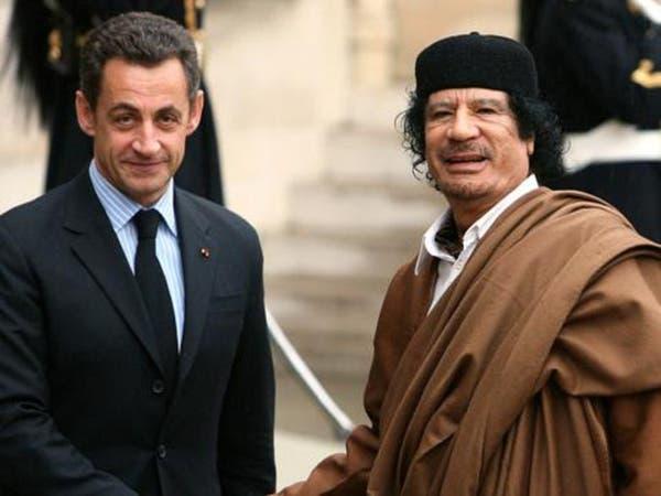 شاهد.. هذا ما قاله القذافي وسيف الإسلام بشأن ساركوزي