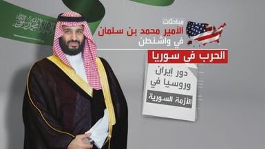 فيديو.. هذه الملفات التي يبحثها محمد بن سلمان في واشنطن