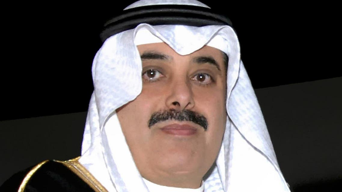 An undated file picture shows one of Saudi Arabia wealthiest businessmen Maan al-Sanea in Riyadh. (AFP)