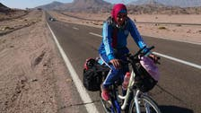 Egyptian young woman overcame diabetes by cycling