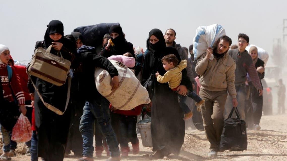 إجلاء مدنيين من الغوطة يوم 15 مارس