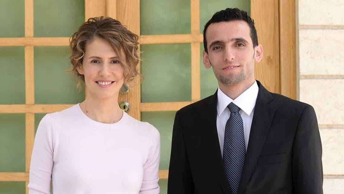 وسام الطير وأسماء الأسد