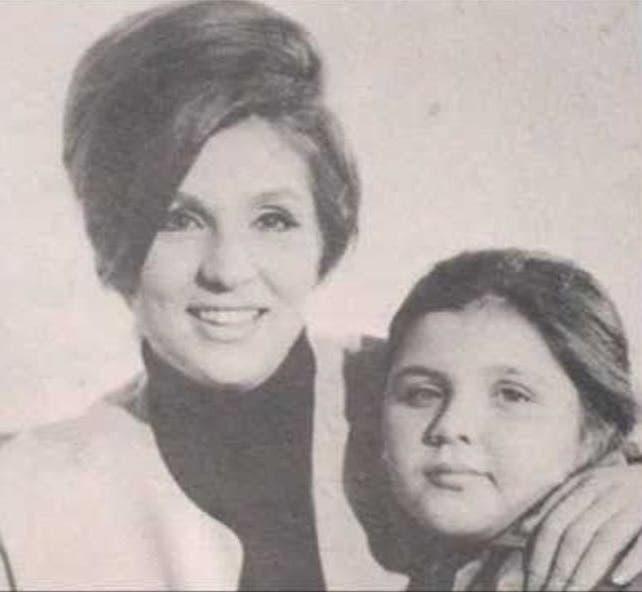 الشحرورة وابنتها هويدا