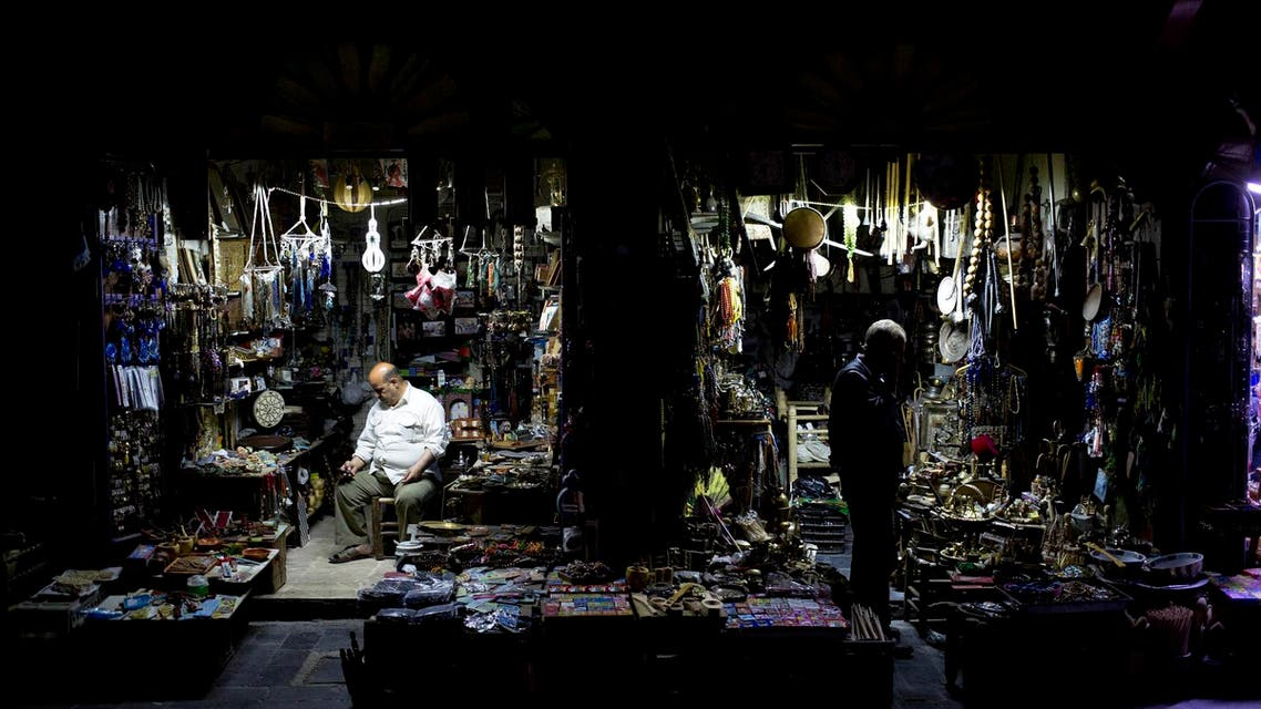 Damascus market. (AP)gf