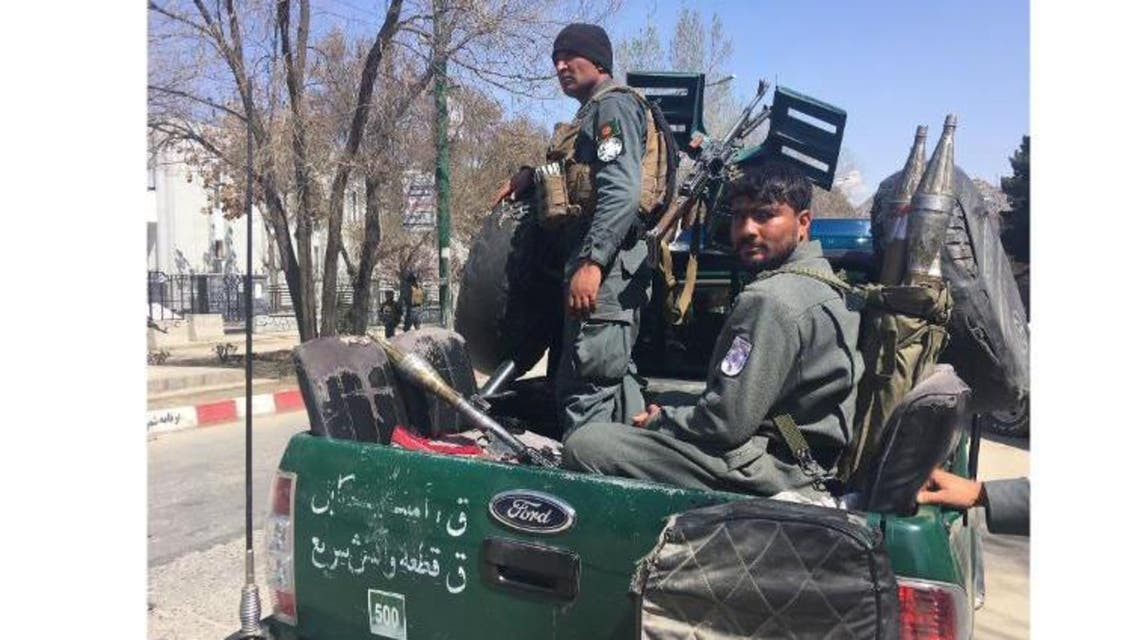 Kabul university blast 1