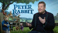 How Peter Rabbit allowed James Corden to reconnect with the home he left behind