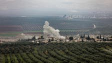 Mortar shells fall on Syria's Aleppo amid clashes between Turkish forces, Kurds