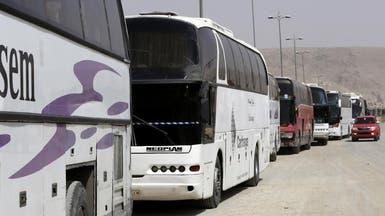 الغوطة الشرقية.. أول دفعة من أحرار الشام تغادر حرستا