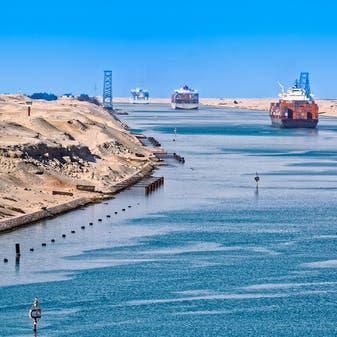 قناة السويس تخفض رسوم عبور سفن الحاويات وناقلات الغاز