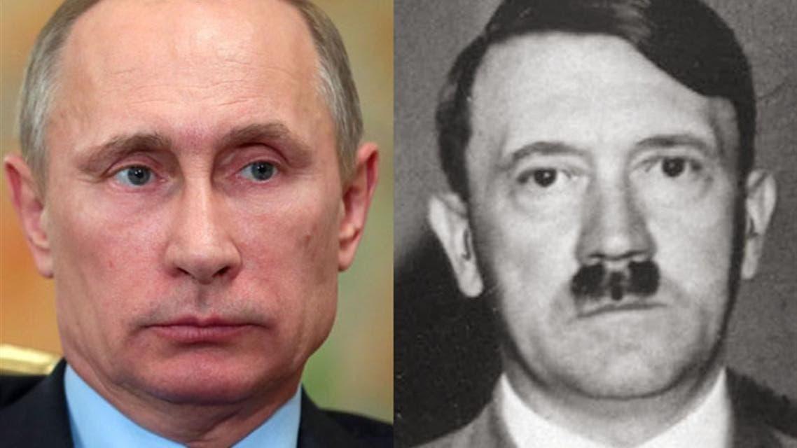 بوتين و هتلر