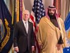 محمد بن سلمان ووزير الدفاع الأميركي