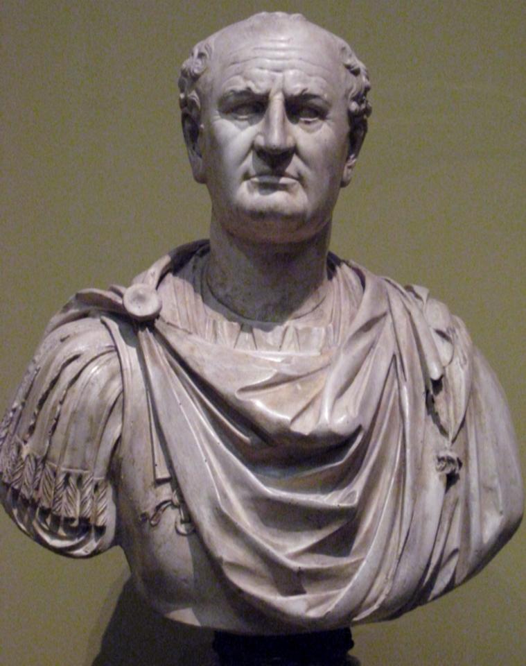 تمثال نصفي للإمبراطور فسبازيان