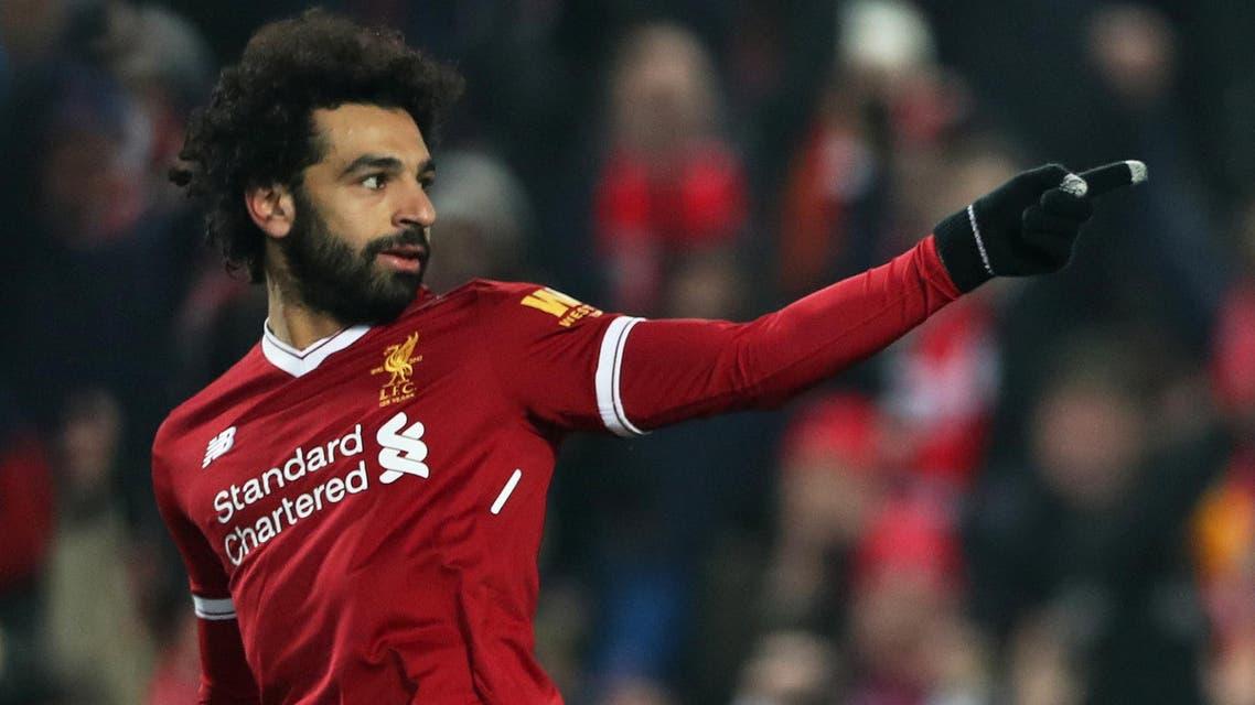 Mohamed Salah. (Reuters)