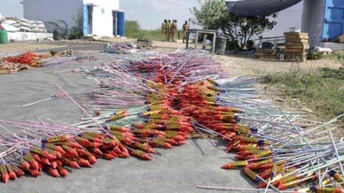 ِIndian firerworks factory blast