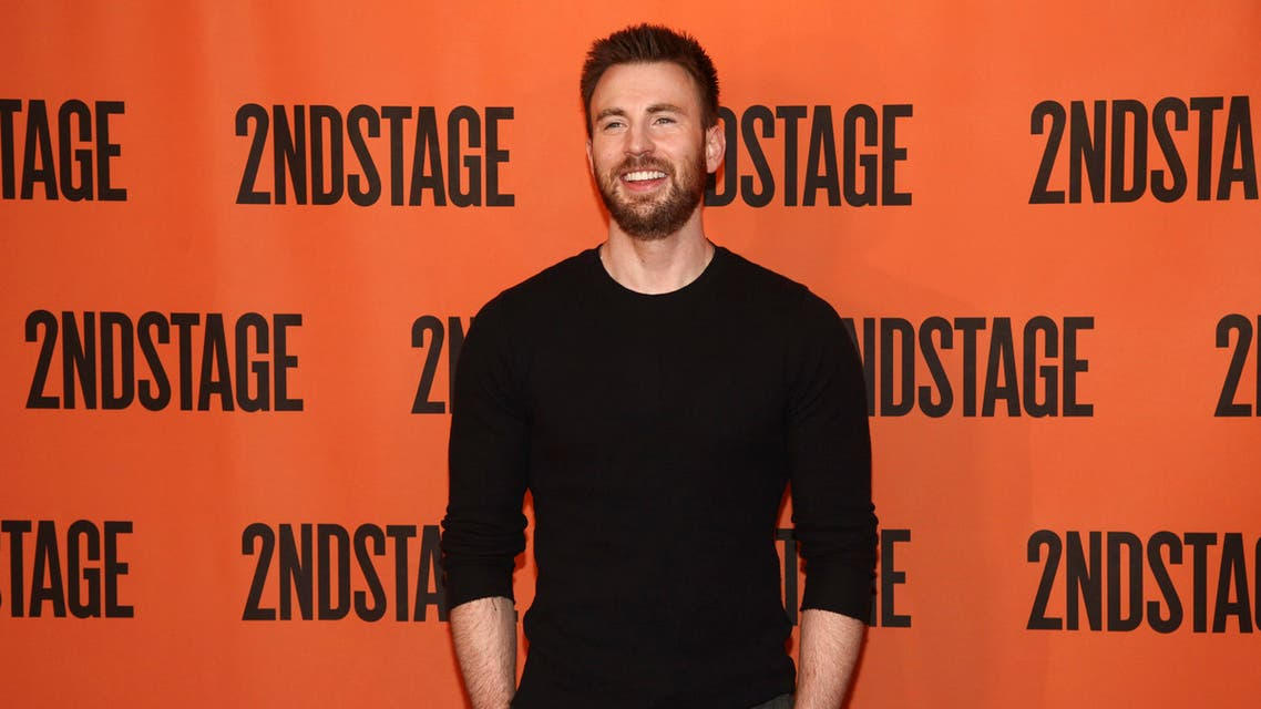 """Chris Evans attends the """"Lobby Hero"""" Broadway press meet and greet at Sardi's on Friday, Feb. 16, 2018, in New York. (Photo by Andy Kropa/Invision/AP)"""