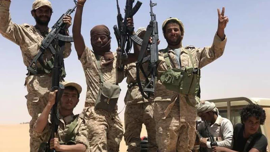 الجيش اليمني في معسكر طيبة الاسم بالجوف2