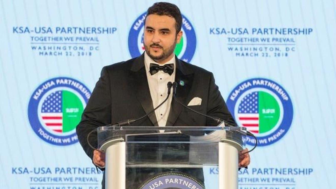 خالد بن سلمان حفل الشراكة السعودية الأميركية
