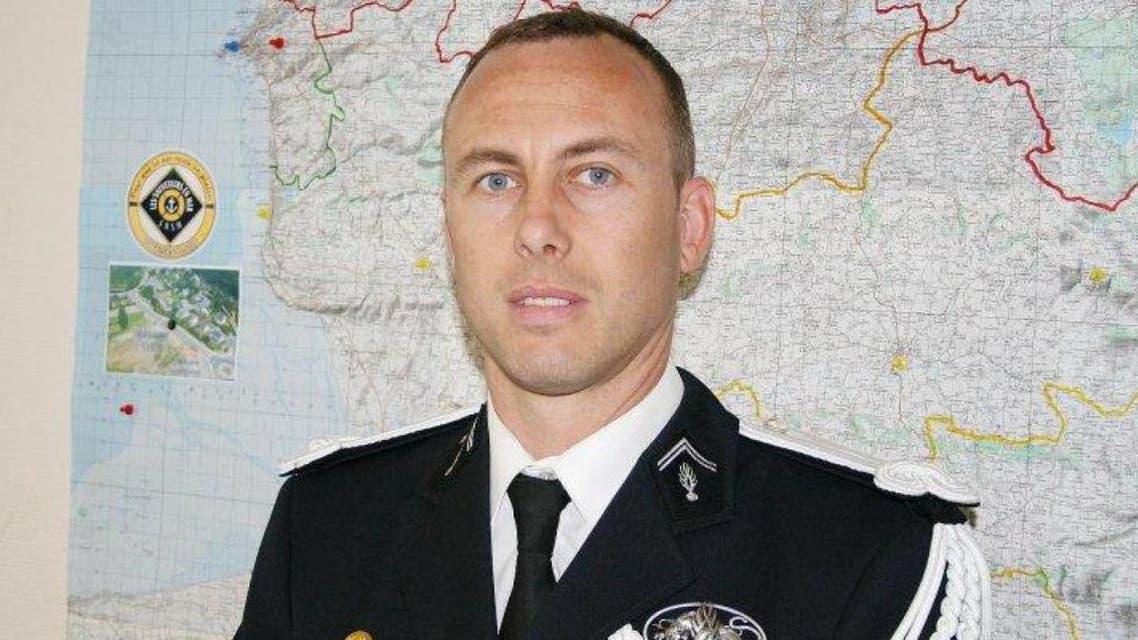 Lieutenant-Colonel Arnaud Beltrame. (Photo courtesy: Le Soir)
