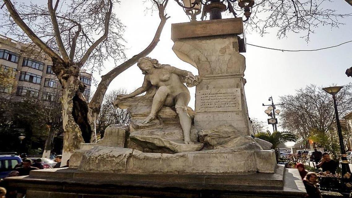 تمثال المرأة العارية في الجزائر