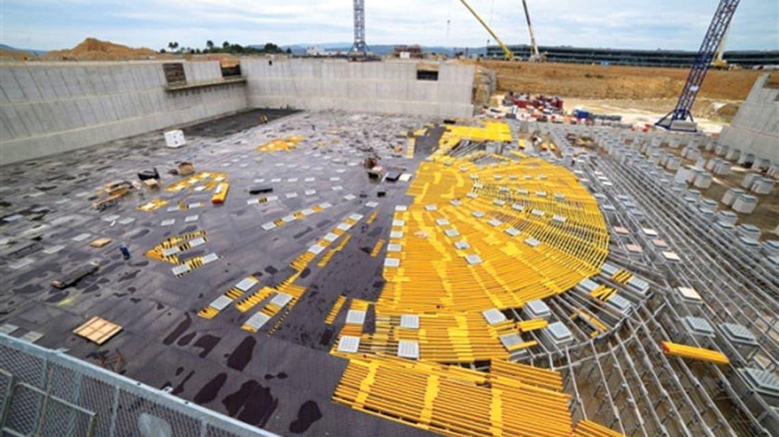 مشروع Iter (المفاعل الحراري النووي العالمي) في مقاطعة بروفانس حيث يدور النشاط النووي الفعلي في فرنسا