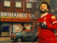 مفتون بريطاني باللاعب محمد صلاح يطلق اسمه على متجره