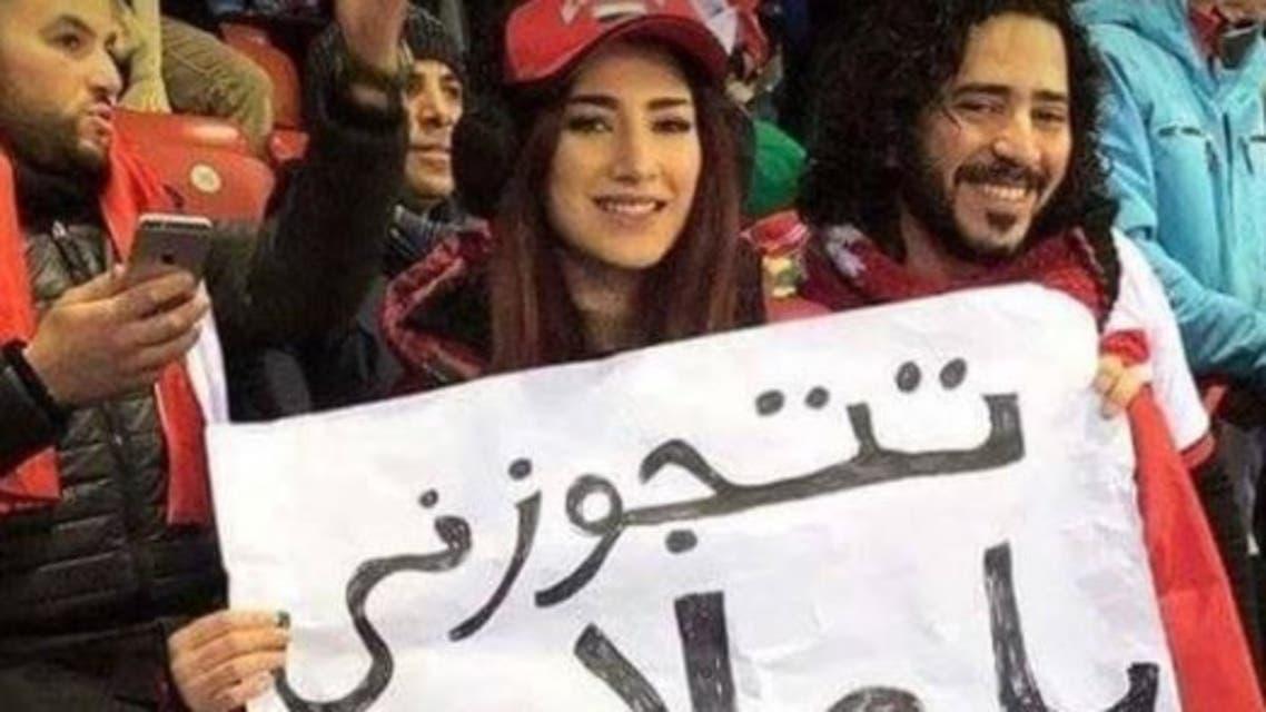 معجبة محمد صلاح