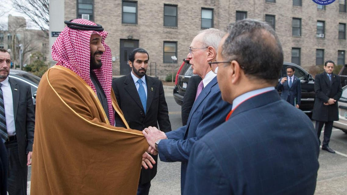 IN PICTURES: Saudi Crown Prince meets with major US university presidents