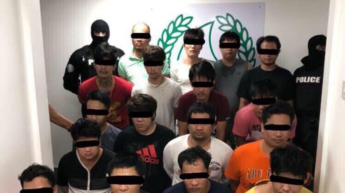 International gang dubai. (Dubai Police)