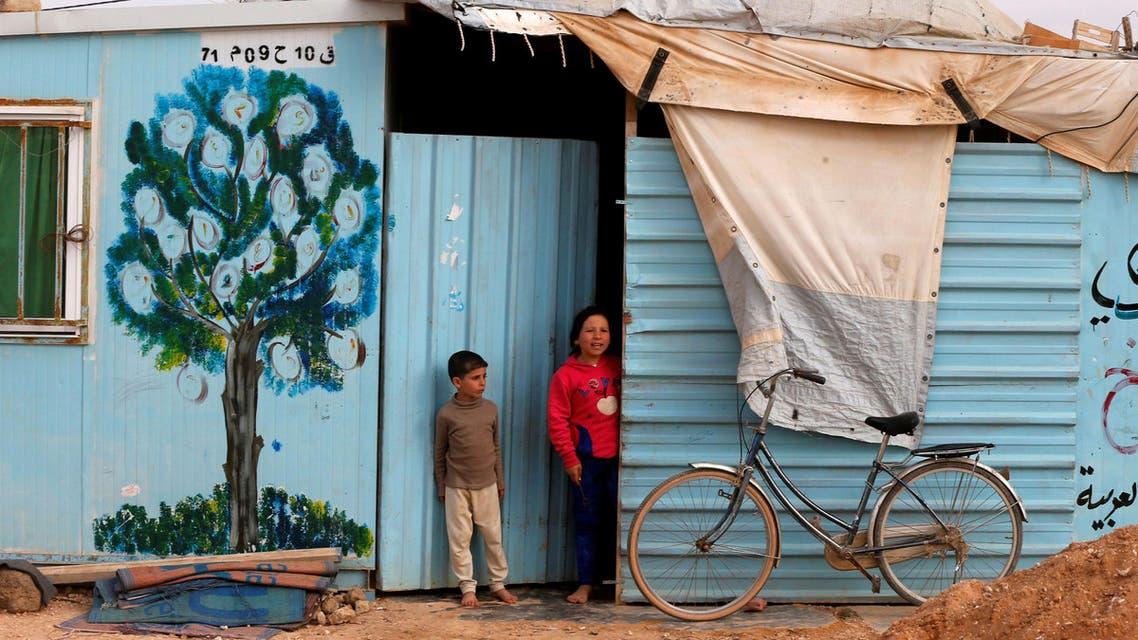 syrian refugees in jordan. (Reuters)