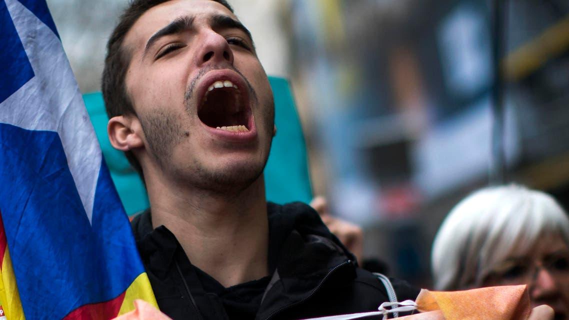 آلاف الكتالونيين في برشلونة ينددون باعتقال بويغدمون