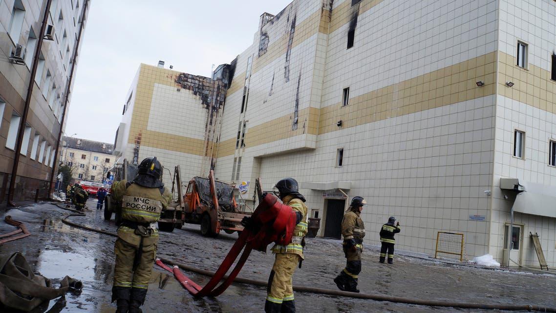 حريق مركز التسوق في كيميروفو السيبيرية