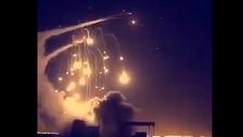 السعودية.. اعتراض وتدمير صاروخ باليستي بسماء الرياض
