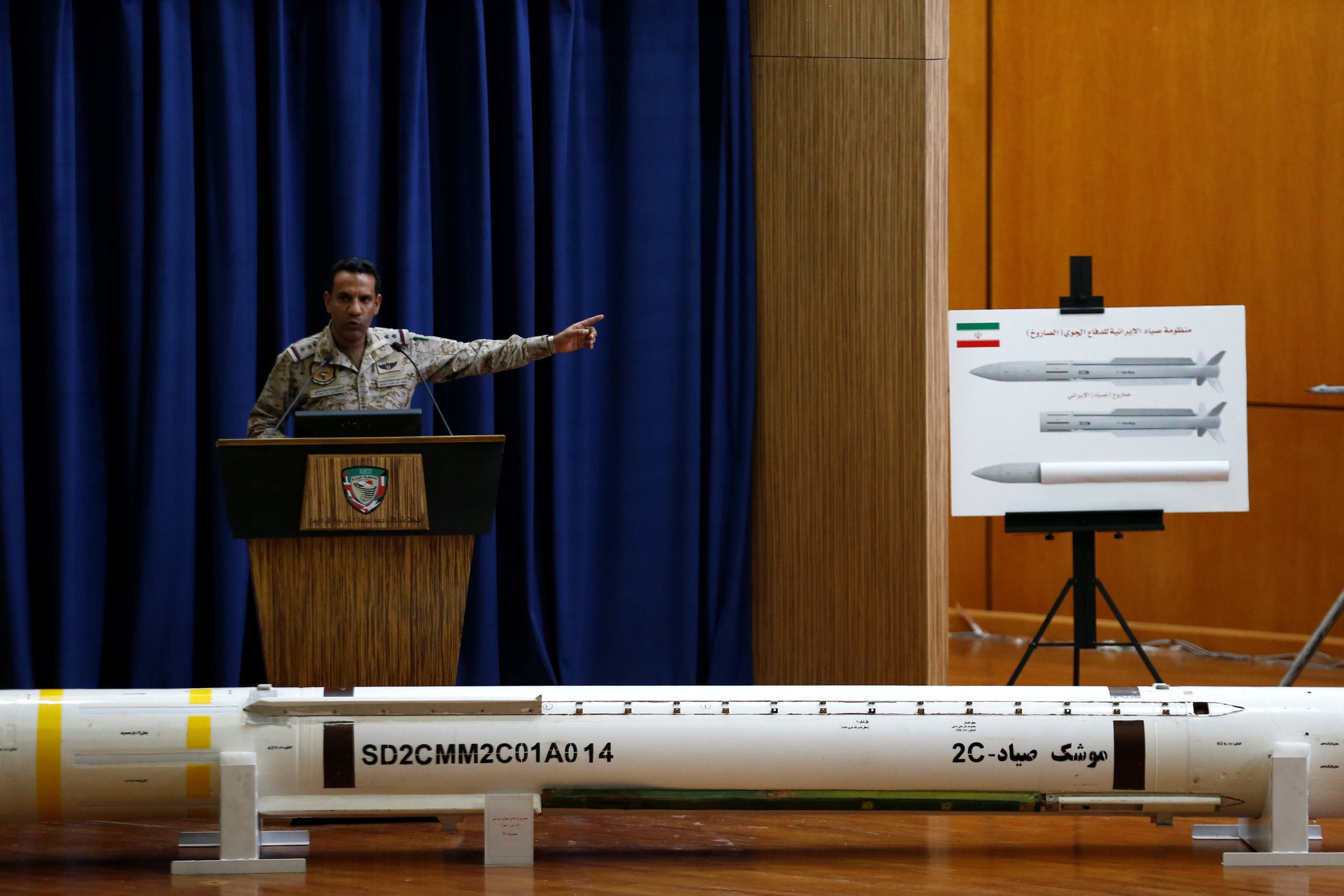 المالكي يعرض أدلة على تزويد إيران الحوثيين بالصواريخ