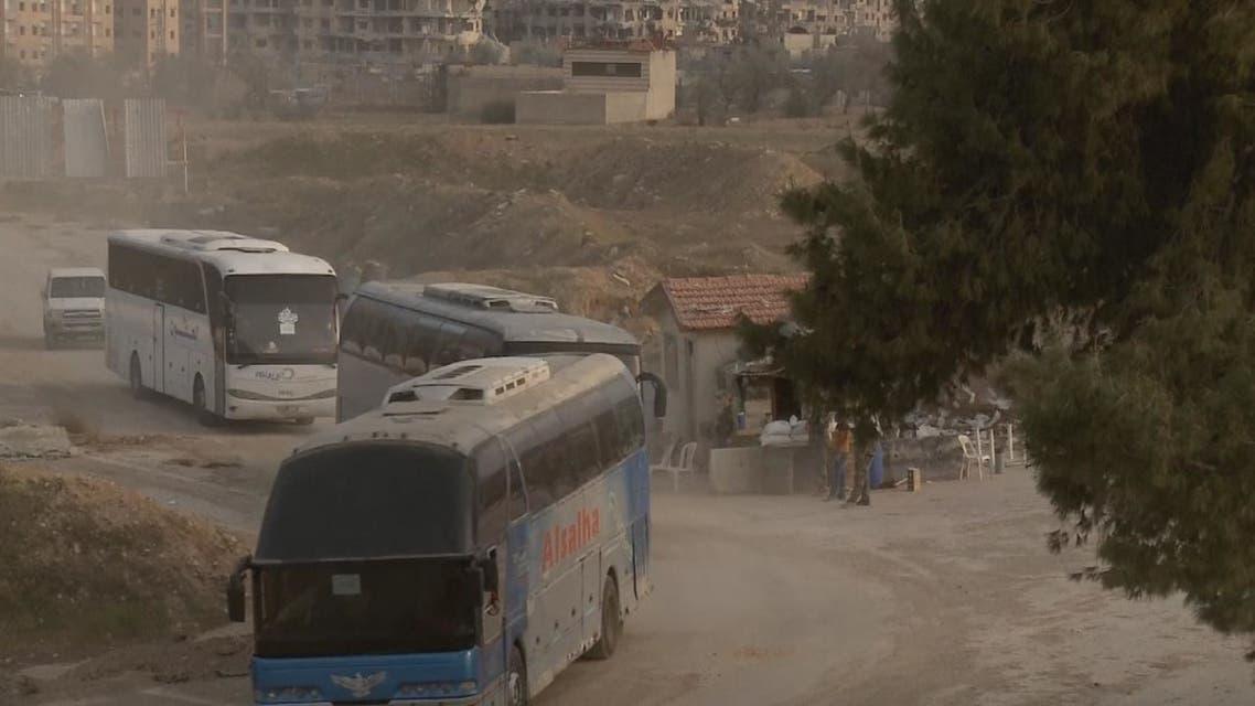 دوما هي آخر مدينة في الغوطة خاضعة لسيطرة المعارضة